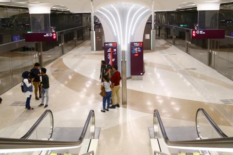 RKH Qitarat, composed of RATP Dev, Keolis and Hamad Group, opened Doha Metro Red Line South