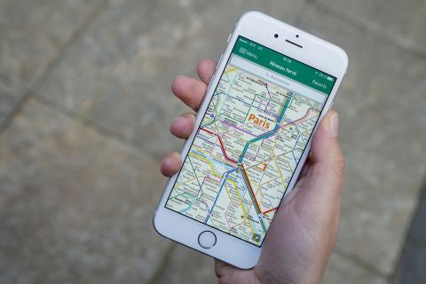 RATP mobile app accompanies you on the move