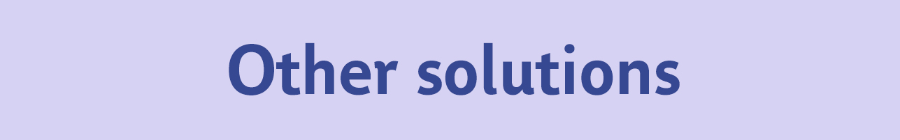 Other-solutions