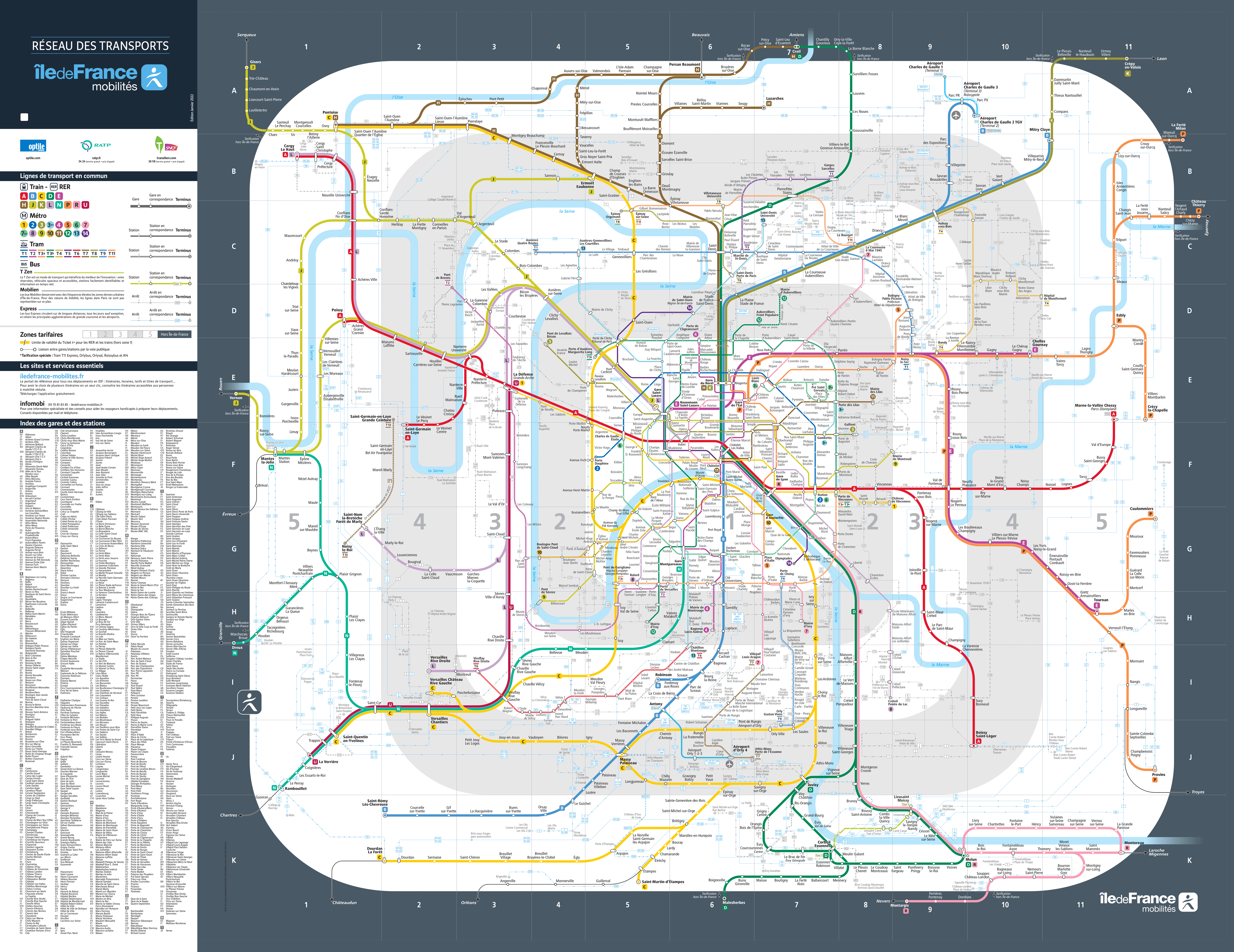 Maps Ratpfr - Paris tourist map english pdf