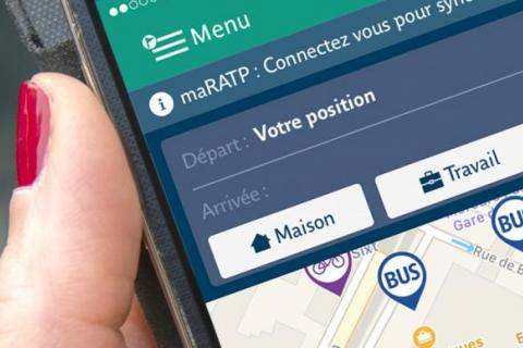 Application mobile RATP