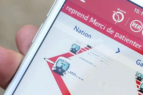 Application Mon RER A
