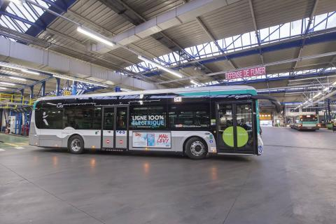 A 100% environmentally friendly bus fleet thanks to the Bus2025 plan