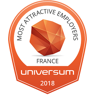 Universum 2018 - Most attractive Employers